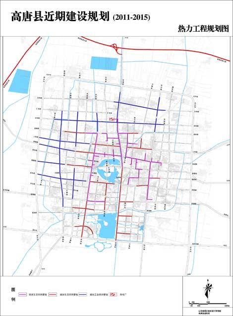 聊城市高唐县地图