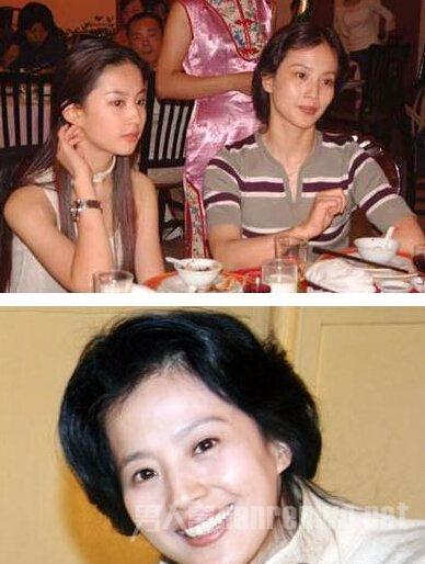 刘亦菲的妈妈近照 网曝刘亦菲和她的妈妈被同一个